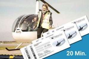 Hubschrauber Rundflug Ticket