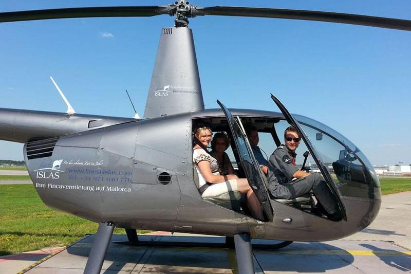 Hubschrauber Transportflüge in Hamburg
