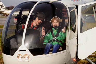Helikopterflug über Hamburg: ein wunderschöner Rundflug und ein einzigartiges Erlebnis!